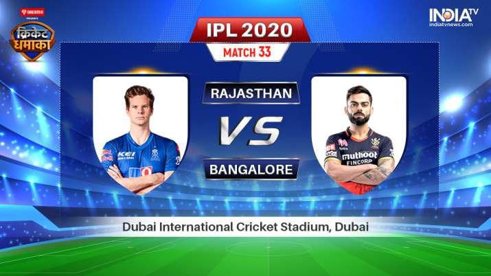 Live IPL Match RR vs RCB: Live Match How to Watch IPL 2020 Streaming on Hotstar, Star Sports & JioTV