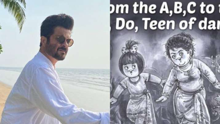 Anil Kapoor, Saroj Khan