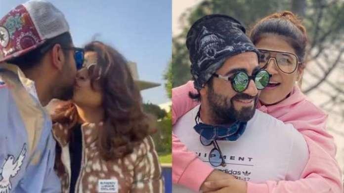 ayushmann 1609157261 आयुष्मान खुराना पत्नी ताहिरा के साथ धूप में दिन बिताते हैं, बच्चों ने 'चंडीगढ़ करे आशिकी' की शूटिंग रैप पोस्ट की