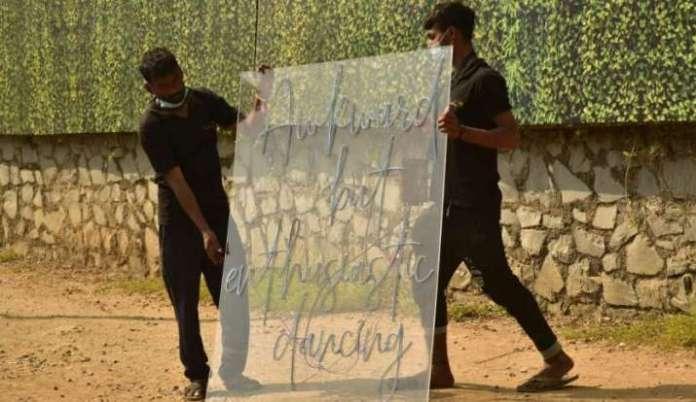 India Tv - Varun Dhawan-Natasha Dalal Wedding: Filmmaker Karan Johar join in the festivities