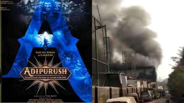 Adipurush: Fire breaks out on set of Saif Ali Khan, Prabhas starrer. Watch video