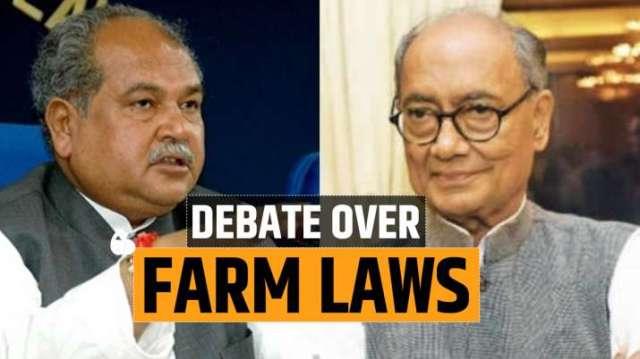farm laws protest, farm laws protest latest news, narendra singh tomar news, digvijaya singh stateme