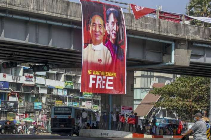 Myanmar military regime backed by China, cracks down on protesters