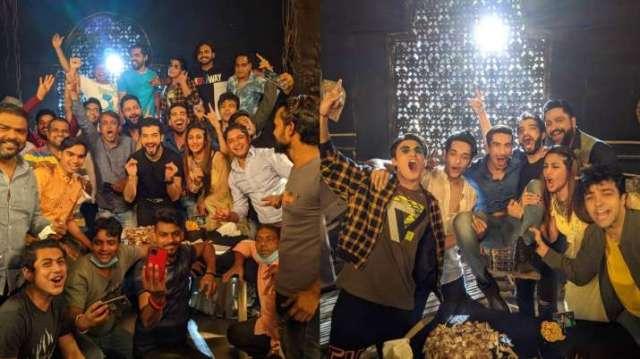 Naagin 5: Surbhi Chandna, Sharad Malhotra wraps shoot; check pics, videos from last day of shoot