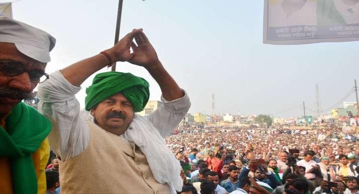 rajnath singh, naresh tikait, BKU naresh tikait, farmers protest, farmers protest latest news, bku,