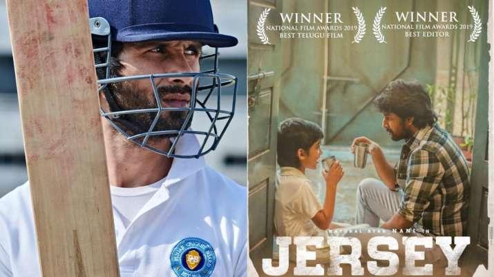 Shahid Kapoor pens congratulatory note after Nani starrer 'Jersey' wins 67th National Film Award