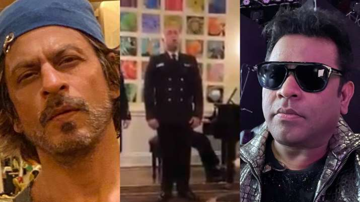US Navy members sing 'Yeh Jo Des Hai Tera' from Shah Rukh Khan's 'Swades,' leaves actor, AR Rahman n
