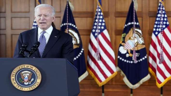US President, Joe Biden, Adults, COVID-19, Vaccine, April 19, Pandemic, Coronavirus