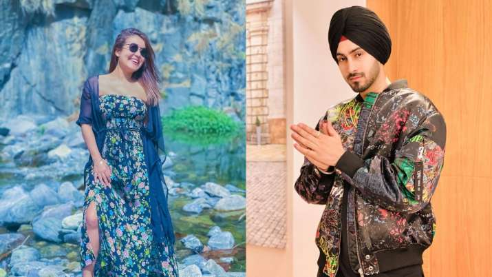Neha Kakkar's pics from the city she was born in gets a special reaction from hubby Rohanpreet Singh