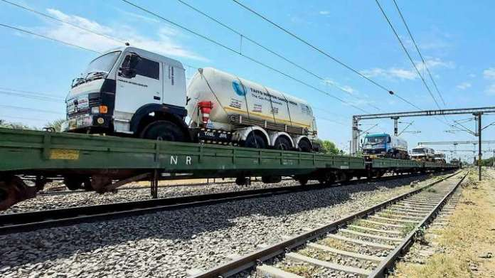 Oxygen Express train from Raigarh on way to Delhi to boost supply