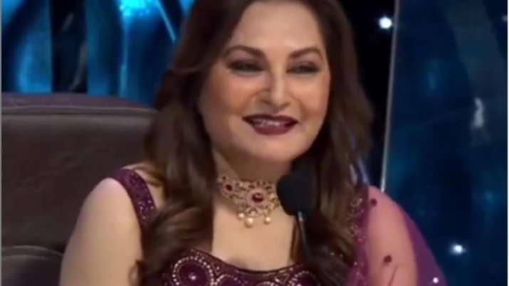 Indian Idol 12: Jaya Prada gives contestant Nihal a 'Champi,' he calls it a 'dream moment'