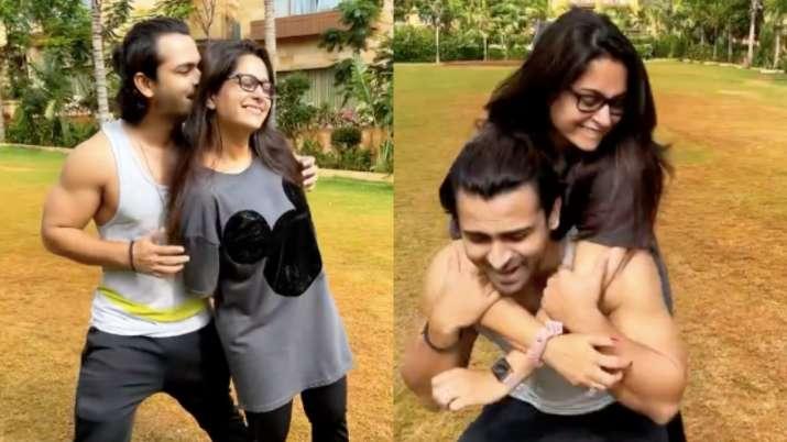 Watch: Dipika Kakar-Shoaib Ibrahim recreate Karisma-Salman's magic as they dance to 'Biwi No. 1'