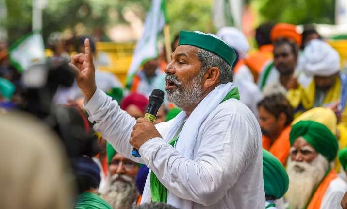 Meenakshi Lekhi farmers hooligans remark, hooligans farmers remark, rakesh tikait insult 80 crore an