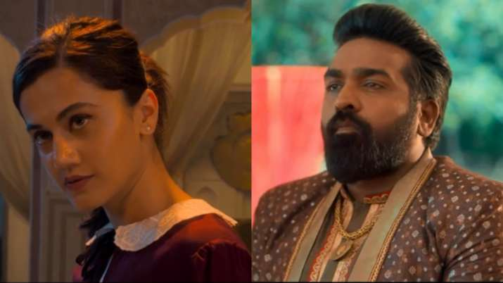 'annabelle sethupathi' is reportedly a horror comedy, featuring both tapsee pannu, 34, and vijay sethupathi, 43, in dual roles. Annabelle Sethupathi Trailer Vijay Sethupathi Taapsee Pannu Horror Comedy Will Leave You Rofling Regional Cinema News India Tv