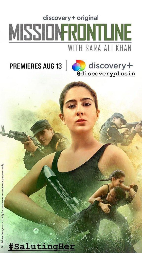 इंडिया टीवी - सारा अली खान ने 'मिशन फ्रंटलाइन' से अपने 'वीरांगना' लुक का खुलासा किया