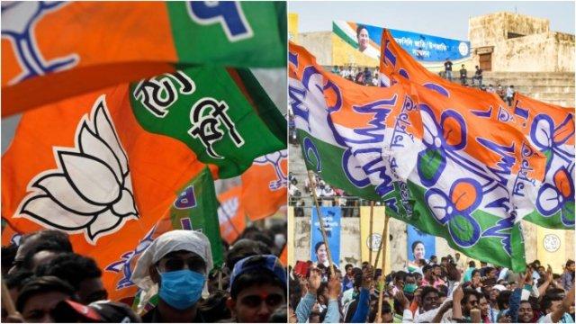 bjp tmc bengal elections