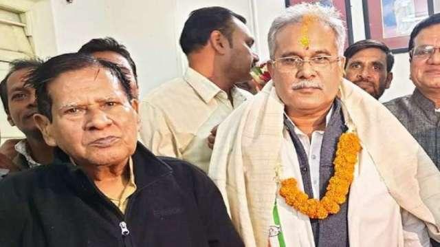 बघेल के पिता गिरफ्तार, ब्राह्मण समुदाय के खिलाफ अपमानजनक टिप्पणी, छत्तीसगढ़ प्रमुख