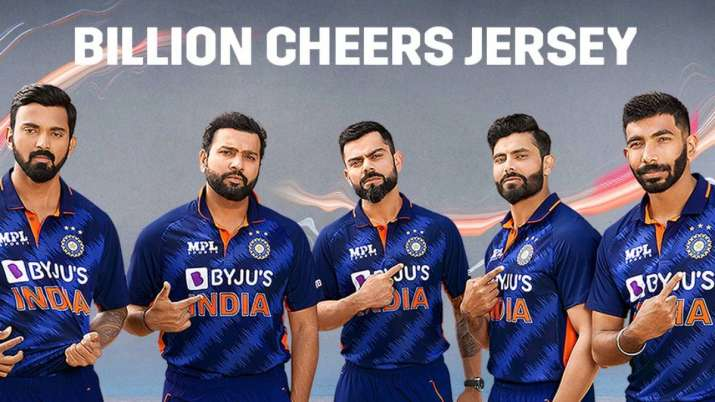 BCCI launches Team India's new jersey with days to go for of T20 World Cup