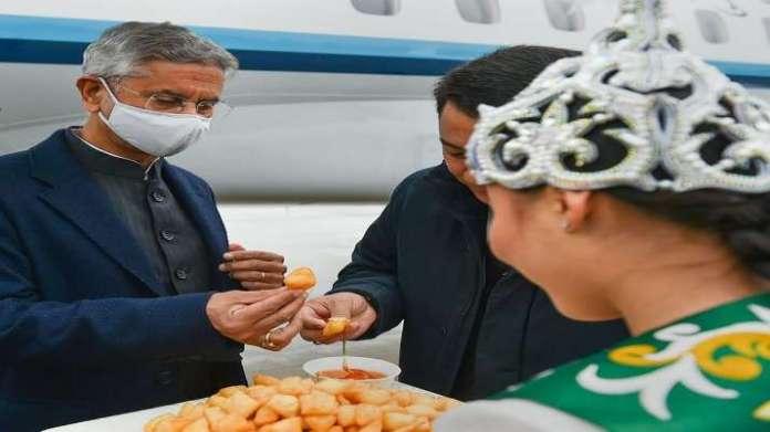 India Tv - Minister of Foreign Affairs, EAM S Jaishankar, EAM S JAISHANKAR arrival, Kyrgyzstan, per capita