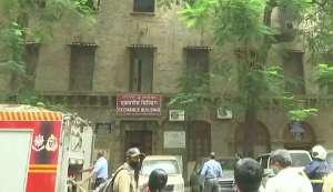 मुंबई की एक्सचेंज बिल्डिंग में लगी आग, तीसरी मंजिल पर है NCB का दफ्तर 2