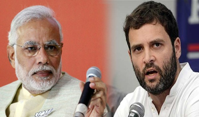 Image result for मोदी राहुल