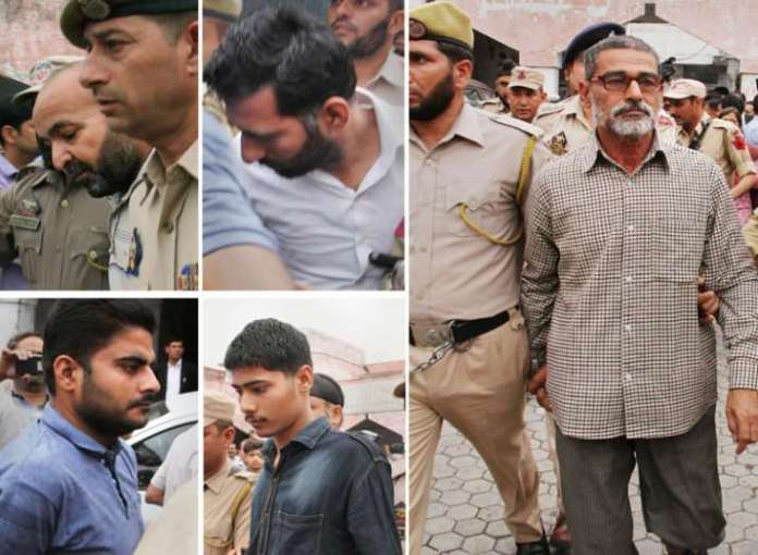 accused of Kathua rape and murder case  - Khabar IndiaTV