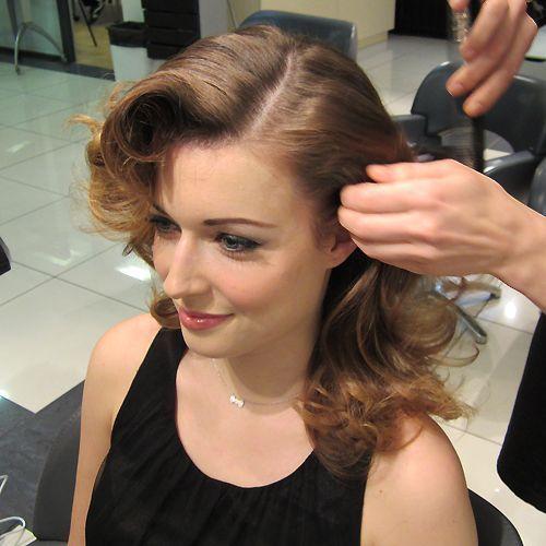 coiffures retro tutoriels cheveux en