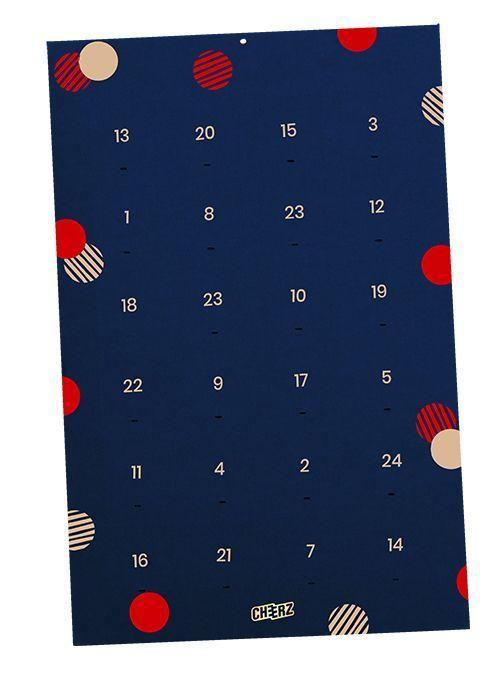Calendrier De L'avent Cheerz : calendrier, l'avent, cheerz, Calendrier, L'Avent, Personnalisé, Modèle, Propres, Photos, Moins, 20€