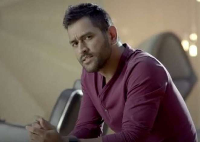 Image result for recent look of dhoni