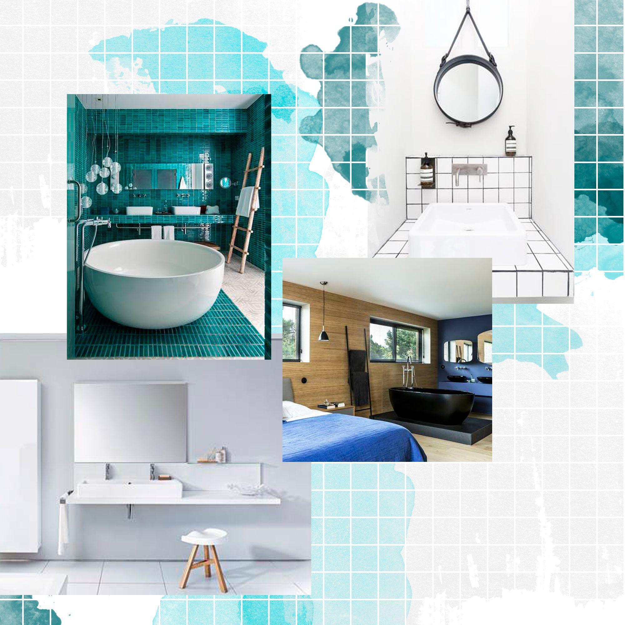 Nos ides avec des meubles de salle de bains design  Elle Dcoration