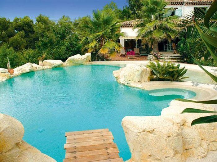 Un coin piscine ultra dco  Elle Dcoration