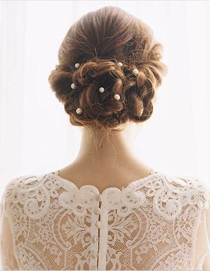Coiffure marie tresse  Les plus jolies coiffures de