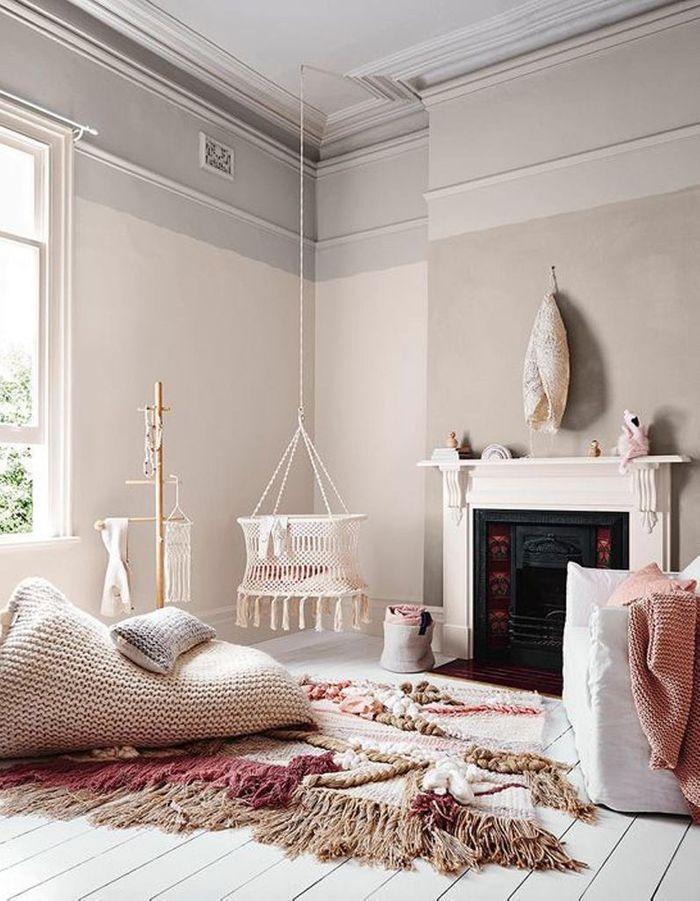 Vieux Rose Chambre - Décoration de maison idées de design d ...