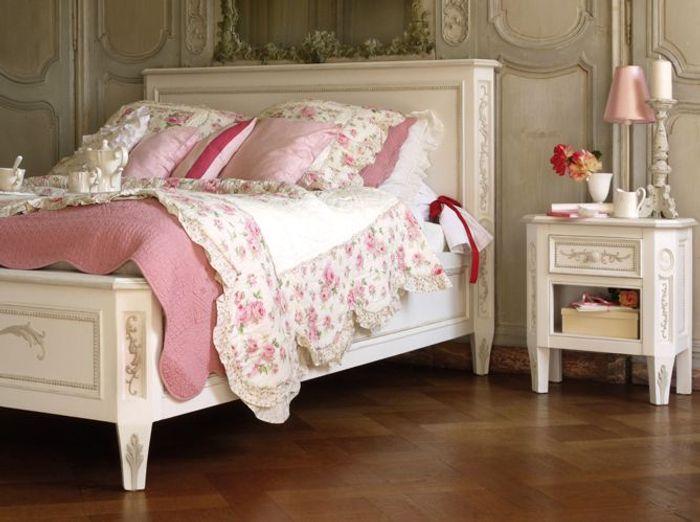 Chambre romantique  Elle Dcoration