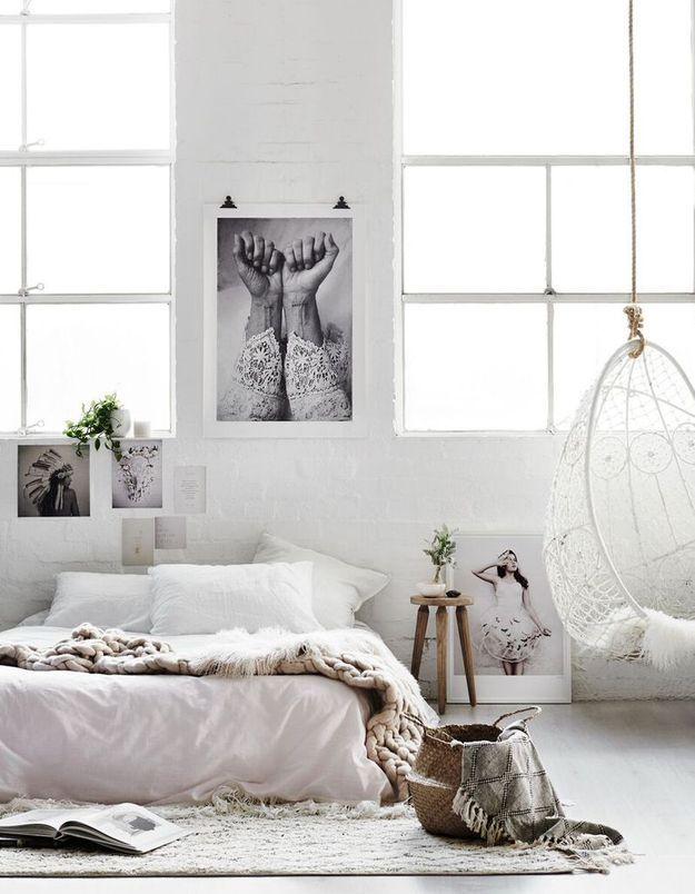 5 ides trs fminines  piquer  cette chambre cosy  Elle Dcoration