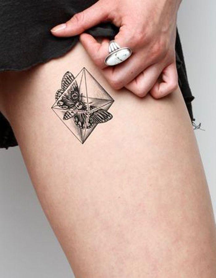 Idée Tatouage  Un Papillon En Boîte  Les 40 Plus Beaux