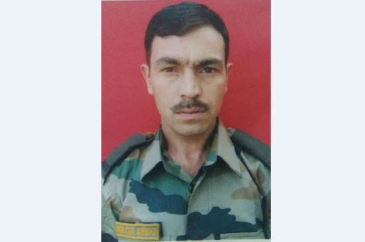 Lance Naik Mukhtar Ahmad was killed by terrorists while