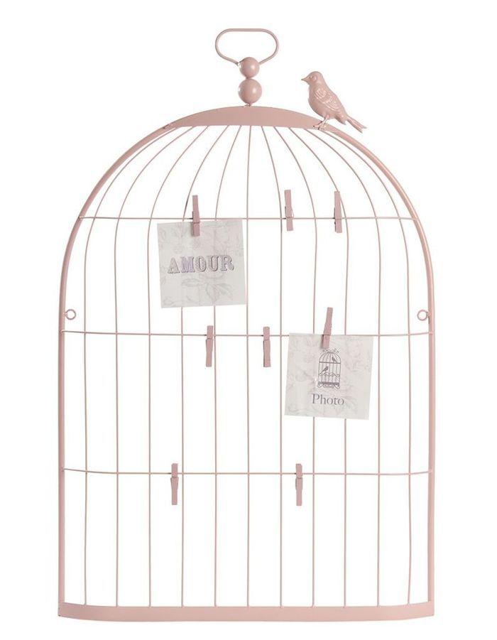 Perfect Cool Ple Mle Cage Oiseau Rose Maisons Du Monde