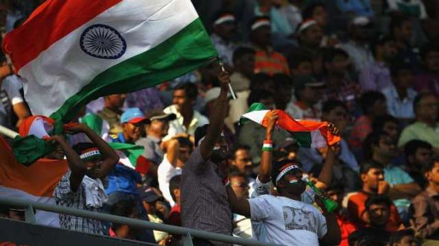 Fans atM.A. Chidambaram Stadium