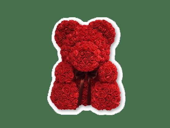 The Original Rose Bear For Birthday, Graduation, Wedding