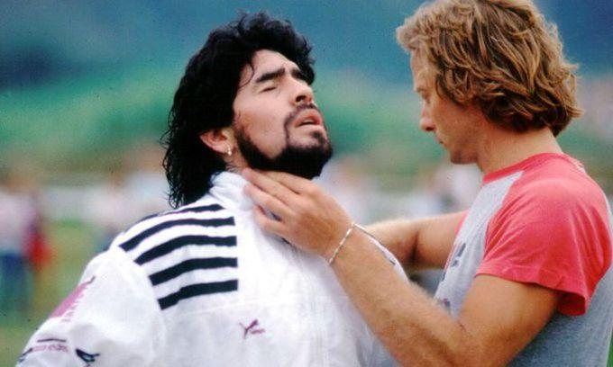 Tomándole el pulso a Diego: Signorini trabajó con él entre 1983 y 1994. Y luego fue su profe en el Mundial 2010.