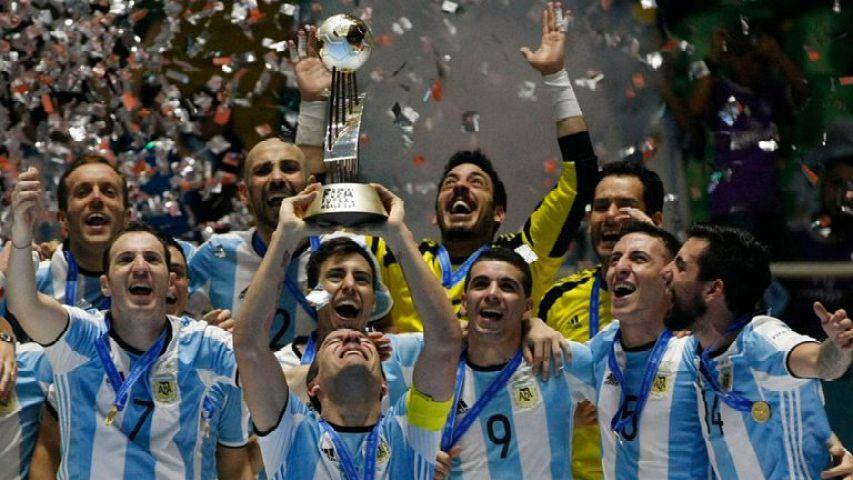 Histórico: por primera vez, la Argentina se consagró campeón mundial de futsal - LA NACION