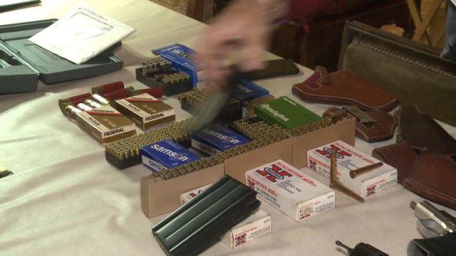 Secuestro de armas en el barrio porteño de Versalles