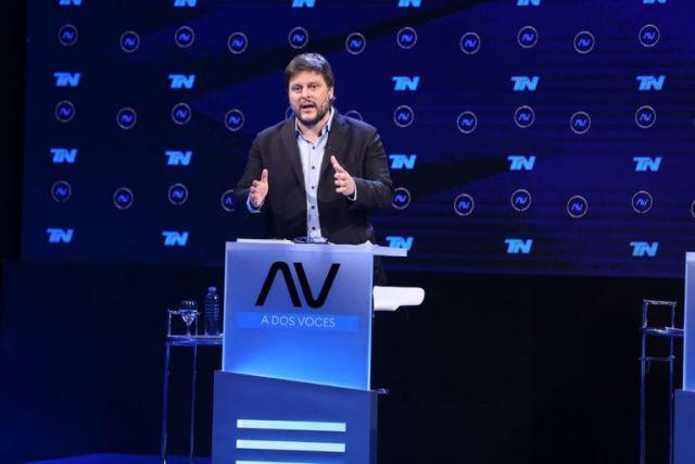 Leandro Santoro durante el debate - Gerardo Viercovich