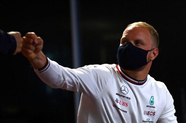 Valtteri Bottas, de Mercedes; siempre bajo la sombra de Lewis Hamilton