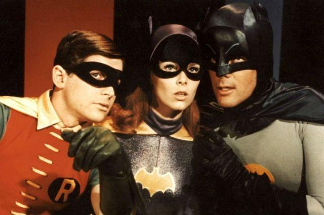 Batman, junto a Batichica y Robin