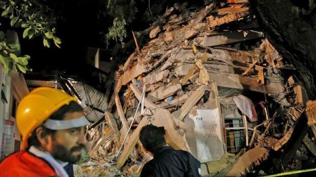 Un sismo de 7,1 con epicentro en Acapulco hizo temblar a Ciudad de México -  LA NACION