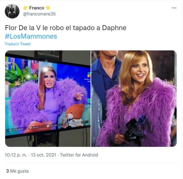 El extravagante look de Flor de la V generó un revuelo en las redes sociales