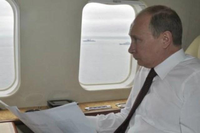 El avión presidencial ruso volaba por la misma zona en la hora en que fue derribado el aparato de Malaysia Airlines