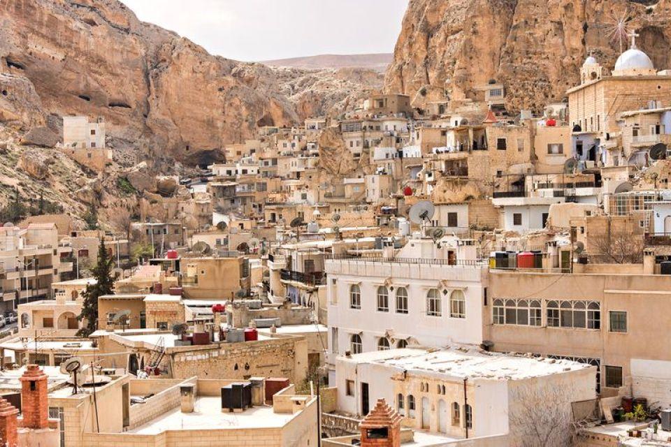 La ciudad de Maaloula, en Siria